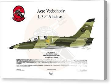 Aero Vodochody Albatros Canvas Print by Arthur Eggers