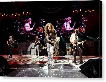 Aerosmith - Austin Texas 2012 Canvas Print by Epic Rights