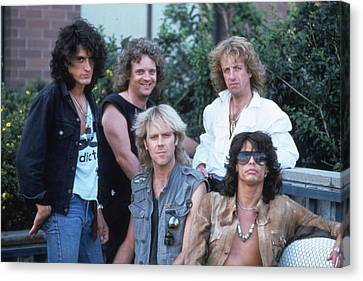 Aerosmith - Bad Boys From Boston 1970s Canvas Print by Epic Rights