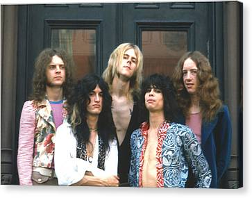 Aerosmith - Boston 1973 Canvas Print by Epic Rights