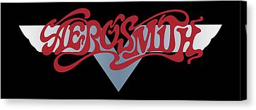 Aerosmith - Dream On Banner 1973 Canvas Print by Epic Rights