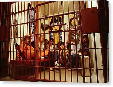 Aerosmith - In A Cage 1980s Canvas Print by Epic Rights