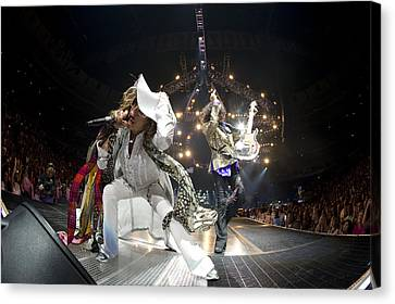Aerosmith - On Stage 2012 Canvas Print by Epic Rights