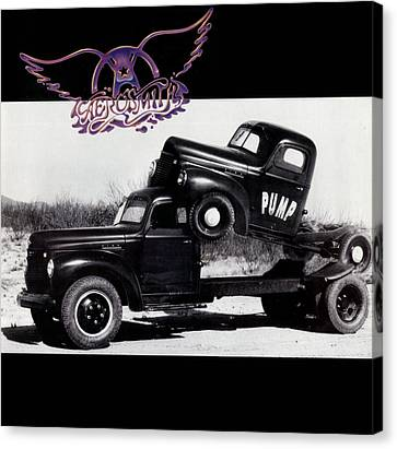 Aerosmith - Pump 1989 Canvas Print by Epic Rights