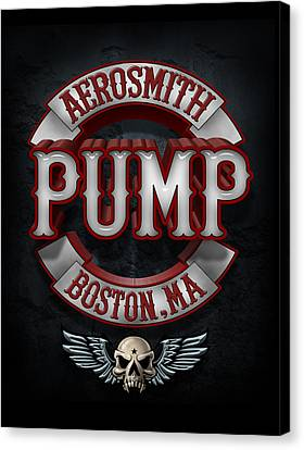 Aerosmith - Pump Canvas Print by Epic Rights