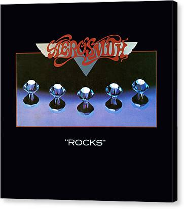 Aerosmith - Rocks 1976 Canvas Print by Epic Rights