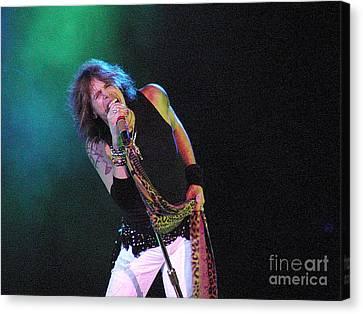 Aerosmith - Steven Tyler -dsc00139-1 Canvas Print by Gary Gingrich Galleries