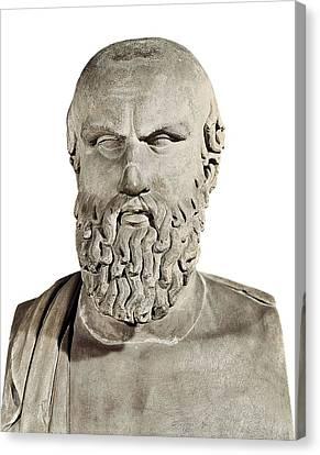Aeschylus 525-455 Bc. Greek Art Canvas Print by Everett