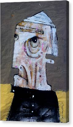 Abstract Expressionism Canvas Print - Aetas No 8 by Mark M  Mellon