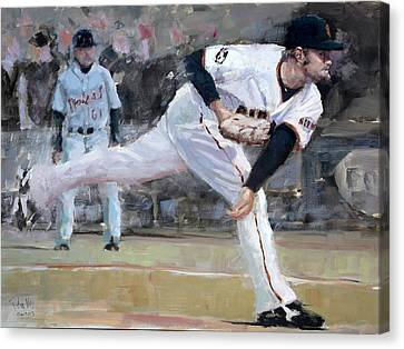 Affeldt Delivery Canvas Print by Darren Kerr