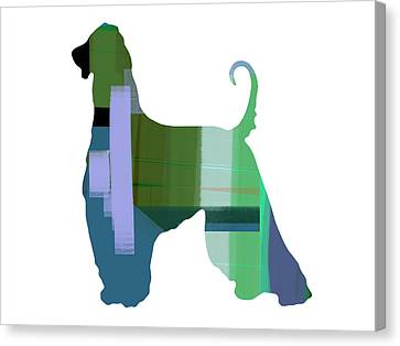 Afghan Hound 1 Canvas Print by Naxart Studio