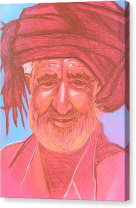 Afghan Man Canvas Print
