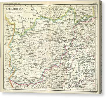 Afghanistan Canvas Print by British Library