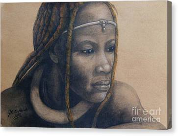 Afican Woman Canvas Print
