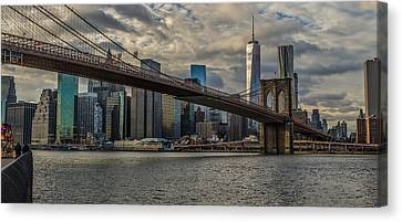 Afordable Crossing Canvas Print