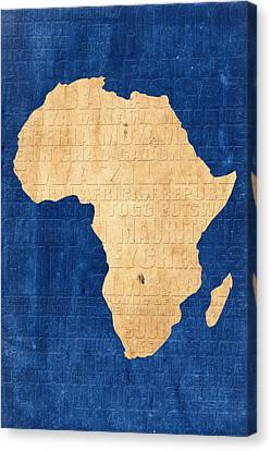 Africa Canvas Print by Andrew Fare