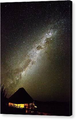 Africa, Namibia Milky Way And Night Sky Canvas Print by Jaynes Gallery