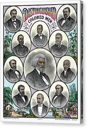 African Americans, C1883 Canvas Print by Granger