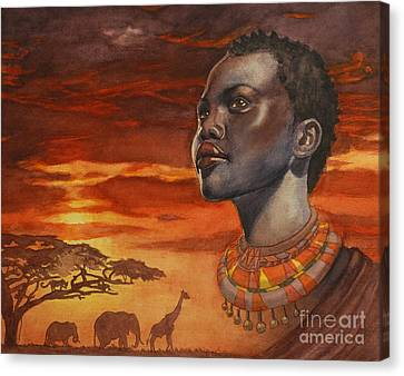 African Dream Canvas Print by Isabella Kung