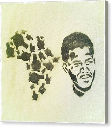 African Icon Canvas Print by Neil Overy