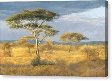 African Landscape Canvas Print by Lucie Bilodeau