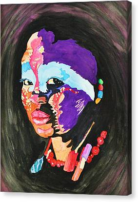 African Woman Canvas Print