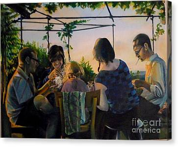 Afternoon In The Countryside Canvas Print by Alessandra Andrisani