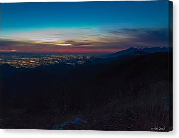 After Dark Canvas Print by Heidi Smith