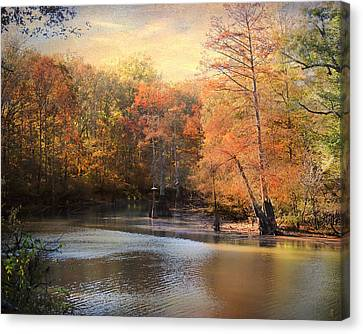 River Scenes Canvas Print - After Daybreak by Jai Johnson