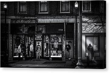 After Hours  Canvas Print by Bob Orsillo
