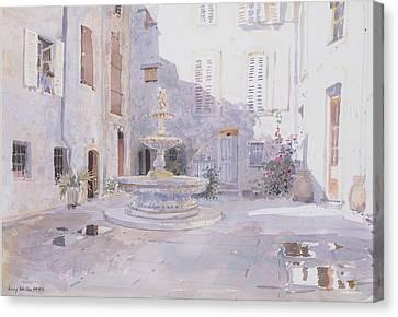 After Rain, Tourrette Canvas Print by Lucy Willis