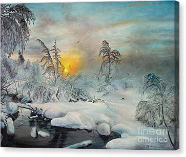 After Storm Canvas Print