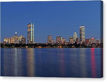Skyline Canvas Print - After Sunset by Juergen Roth