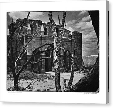 Canvas Print featuring the photograph After The Battle by Travis Burgess