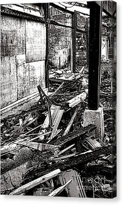 After The Fire Canvas Print by Olivier Le Queinec