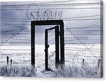 After The Iron Curtain Canvas Print