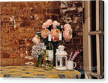 After The Party Canvas Print by Kaye Menner