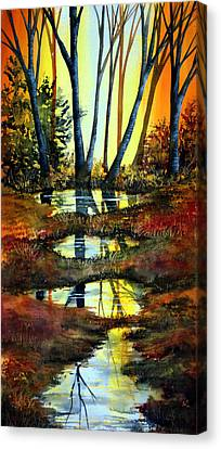 After The Rain Canvas Print by Ann Marie Bone