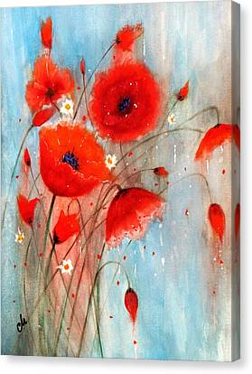 After The Rain.. Canvas Print by Cristina Mihailescu