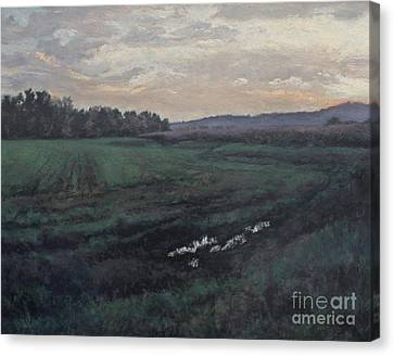 After The Rain Canvas Print by Gregory Arnett