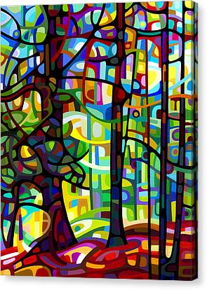 Abstract Landscape Canvas Print - After The Rain by Mandy Budan