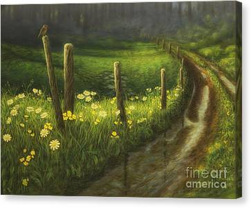 Harmonious Canvas Print - After The Rain by Veikko Suikkanen