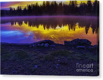 After The Rising Canvas Print