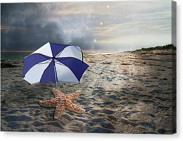 Storm Canvas Print - After The Storm by Betsy Knapp