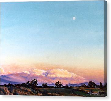 Canvas Print featuring the painting After The Storm by Craig T Burgwardt