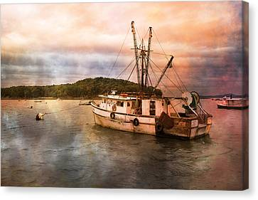 Maine Mountains Canvas Print - After The Storm by Betsy Knapp