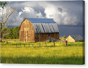 Barn Storm Canvas Print - After The Storm I by Ramona Murdock
