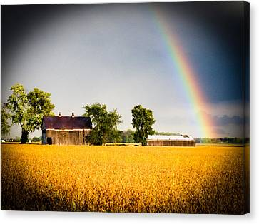 After The Storm Canvas Print by Michael L Kimble