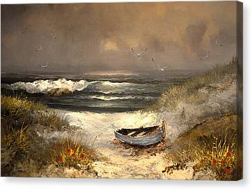 After The Storm Passed Canvas Print by Sandi OReilly