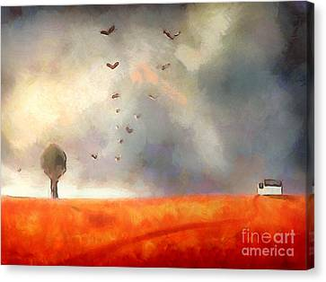 Storm Canvas Print - After The Storm by Pixel Chimp
